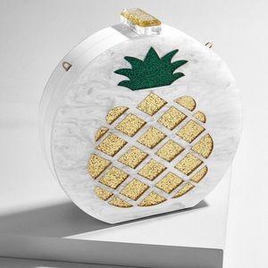 BRAND NEW BaubleBar Colada Clutch (Pineapple) 🍍